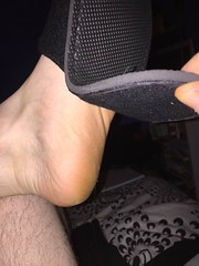 A friend and his #Slippers   #feet #barefoot #Sockless #gay #fetish #guy #male (FootboiMax) Tags: gay male guy feet fetish barefoot slippers sockless