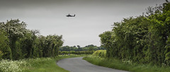 Apache Over the Road (stevedewey2000) Tags: hampshire middlewallop kentsboro helicopter aviation militaryhelicopter apache agustawestland road landscape hedge nikon1v2 nikkor1vr1030mm explore explored