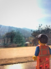 View from our Room. (parik.v9906) Tags: india window nature view lego room scenic legos minifig ooty iphone minifigure emmet 5s minifigures iphoneography