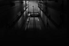Appesi nel vuoto (-Andreyes- www.andreabastia-photo.com) Tags: photo andrea biancoenero trieste bastia ascensore cavi vuoto friuliveneziagiulia appesi wwwandreabastiaphotocom