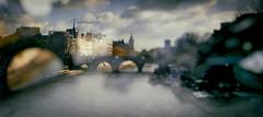 Un matin (Calinore) Tags: city bridge paris france rain seine river pluie pont ville fleuve