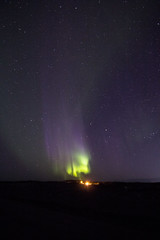 Spring aurora borealis (Chalicerae) Tags: stars lights manitoba tokina aurora nightsky northern thompson northernlights auroraborealis starrysky canon60d tokina1116mm