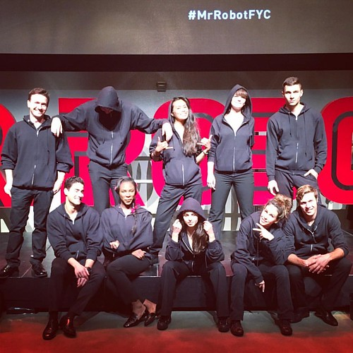 That's a wrap for this bunch In Hollywood at the #MrRobotFYC gig tonight! #events #eventlife #staffing #bartenders #servers #girlboss #hollywood #200ProofLA #200Proof