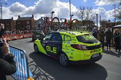 Tour De Yorkshire Womens Race Conisbrough (215) (rs1979) Tags: cycling yorkshire doncaster southyorkshire cyclerace lowroad conisbrough teamcar womensrace teamcars tourdeyorkshire tourdeyorkshire2016 tourdeyorkshirewomensrace