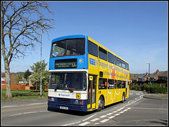 16694 on D2, part CCXXXII (Jason 87030) Tags: charity camera bus yellow canon eos volvo northampton shot northamptonshire cancer may picture bluesky fave views daffodil roadside veteran amateur nurses bizarre northants stagecoach d2 doubledecker oly mariecurie olympian 2016 daventry southbrook 50d 16694 admiralsway r694dnh zphotostreamimagepicturecategorykinkytestfistingmasochismboobsshottoplessbondageimage