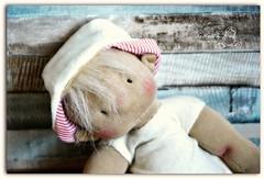Un Petit Marin d'Eau Douce (Les PouPZ) Tags: bear baby sailor artdoll waldorfdoll clothdoll petitpois cuddledoll naturalfiberdoll lespoupz