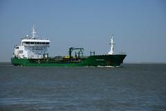 Thun Goliath (larry_antwerp) Tags: netherlands ship nederland vessel schelde tanker  schip      walsoorden     thungoliath