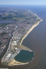 Great Yarmouth in Norfolk - Aerial Image (John D F) Tags: coast norfolk aerial yarmouth greatyarmouth eastanglia aerialimage