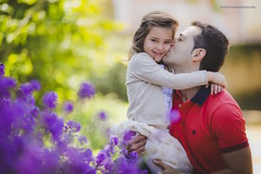 """She's got a bad case of """"papitis"""" (only wanting to be with pap) (Michael Raphan) Tags: love hugs fatherdaughter parquedelcapricho elcapricho"""