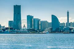 Yokohama, Minato Mirai (Arutemu) Tags: city sea japan canon asian japanese asia cityscape ciudad  yokohama kanagawa japonesa  japon  japones  japonais          yokohamabay  japonaise  eos50d