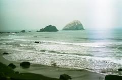 45470013 (danimyths) Tags: ocean california film beach water coast waterfront pacific roadtrip pch pacificocean westcoast californiacoast filmphotography pacificcostalhighway