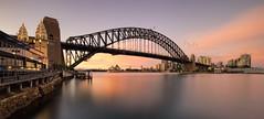 Let In The Sun (EmeraldImaging) Tags: longexposure seascape skyline sunrise sydney australia nsw lunapark sydneyharbour sydneyoperahouse sydneyharbourbridge sydneycity sydneynswaustralia thecoathanger milsonspointlandscapecityscapesydney