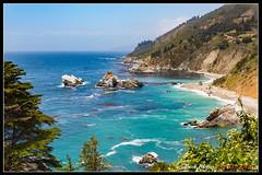 ECP_0744 (e.chavez) Tags: ocean california blue trees west beach nature water cali canon coast big paradise pch beaches sur northern pheiffer 5d3