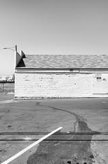 Parking Lot Stains (autobahn66.com) Tags: city urban blackandwhite monochrome dirty minimal grime minimalism parkinlot