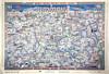 Amman map 1995 (alazaat) Tags: vintage map amman panoramic arabic nineties عمّان خريطة التسعينات