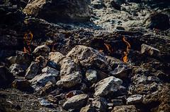 Yanarta (Melissa Maples) Tags: turkey fire grey nikon rocks asia flames trkiye nikkor chimera vr afs  chimaira 18200mm  f3556g yanarta  18200mmf3556g iral d5100