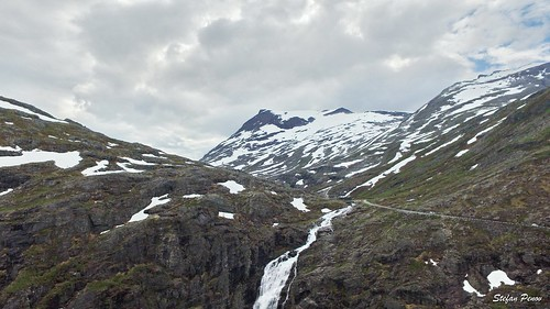 The mountains above Trollstigen
