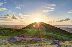 Arthurs Seat June 2016 #14 (swami666) Tags: sunset landscape scotland edinburgh