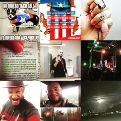 Celebrando mis 5000 seguidores en Instagram.  En esta imagen estn mis 9 fotos ms vistas  #aniel2016 #guerrero (rocknoetika) Tags: rock puerto hard rico guerrero aniel instagram