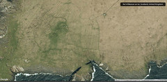Aerial view of the Lazy Beds on North Rona (Nanooki) Tags: aerialphotography google lazybeds map northrona scotland unitedkingdom gb scottishisles lazybed arrable ancient farming cultivation naheileanananlar
