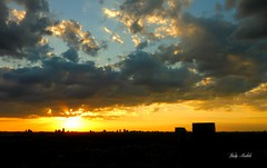 """""""You are the sky, everything else is just the weather""""  -  Pema Chodron (Trinimusic2008 -blessings) Tags: light sunset summer sky sun toronto ontario canada color colour nature june night clouds dark to sunsetting 2016 trinimusic2008 viewfrommycondo judymeikle"""