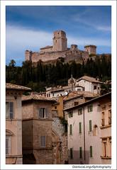 Assisi (Gianluca Longu) Tags: italy panorama clouds canon italia nuvole chiesa cielo assisi scorcio citt