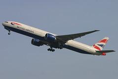 British Airways - G-STBC (Andrew_Simpson) Tags: heathrow depart ba boeing departure britishairways takeoff 777 lhr heathrowairport departing baw oneworld londonheathrow egll triple7 777300 777300er londonheathrowairport oneworldalliance n6018n gstbc