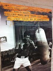 Live life a champion! (eclipz14) Tags: life poster champion icon ali idol boxer boxing legend muhammadali