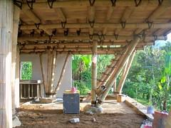 Downstairs (SimonEvans1) Tags: bali house bamboo greenworld batukaru tabanan