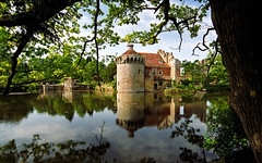 Scotney Castle Landscape Gardens, Kent, England | Romantic castle ruins reflected in moat (11 of 16) (ukgardenphotos) Tags: uk wallpaper england reflection castle english gardens reflections garden geotagged kent ruins azaleas calendar screensaver reflected f80 moat nationaltrust picturesque tranquil provia100f scotney rhododendrons nationaltrustgardens oldcastle castleruins moatedcastle scotneycastle historicgarden castlegardens ruinedcastle picturepostcard lamberhurst wetreflections landscapegardens lakereflections medievalcastle scotneycastlegardens colorfulreflections englishcastle romanticruins awesomecolors romanticgarden lakesidereflections geo:country=england quarrygardens bestcastle geo:city=tunbridge geo:zip=tn38jn geo:lat=51091263 geo:lon=0411771