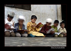The Madrasha kids... (Tazbir Mahin) Tags: people motion kids nikon islam religion arabic study madrassa bangladesh learn concentrate chittagong
