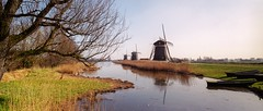 three windmils at Leidschendam (Ron (Netherlands)) Tags: windmil zorki6 jupiter3