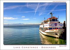 Lake Constance - Bodensee (Ticino-Joana) Tags: germany deutschland boot boat barca ship bodensee schiff battello germania lakeconstance lagodicostanza mygearandme