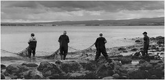 Fishing (JACK BYERS.) Tags: sea men net work coast scotland seaside fishing nikon fishermen north east dolphins nets inverness eastcoast chanonry morayfirth scottishhighlands fortrose royalburgh chanorypoint eccose jackbyers rosemarkey
