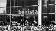 barista, mobilia (brandsvig) Tags: food coffee café march sunny mat malmö barista kaffe 2012 mobilia soligt