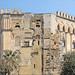 La façade du palais des Normands (Palerme)