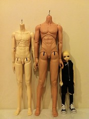 [Comparison] Spirit Doll Proud ver.2 body / Herculean body / DOD DoC (Ray Kitsune) Tags: doll dolls bjd dod doc abjd docu dreamofdoll balljointeddoll balljointdoll herculean bjds spiritdoll spiritdollproud spiritdollherculean