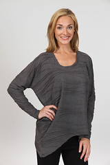 "9279 Slouchy<br /><span style=""font-size:0.8em;"">Pleated Waves, Charocal <br />(Shown) Ivory & Caramel</span> • <a style=""font-size:0.8em;"" href=""http://www.flickr.com/photos/62165999@N03/7070708171/"" target=""_blank"">View on Flickr</a>"
