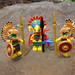LEGO Collectible Minifigures Series 7 vs  Jungle Adventures