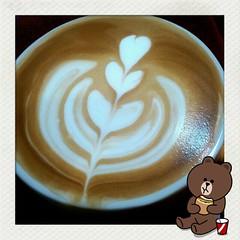 早安拿鐵 (nodie26) Tags: art cup water coffee hearts leaf cafe heart tea drink espresso latte 咖啡 心 下午茶 拿鐵 葉子 愛心 拉花 義式咖啡