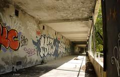 Galerie détournée (B.RANZA) Tags: trace histoire waste sanatorium hopital empreinte exil cmc patrimoine urbex disparition abandonedplace mémoire friche centremédicochirurgical