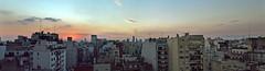 Pano Buenos Aires 2 (EduPty) Tags: city sunset skyline atardecer buenos aires ciudad palermo 2012