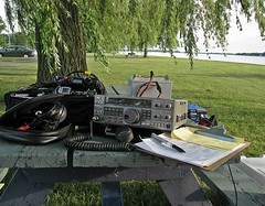 Ham Radio-Field Day On The St.Clair Parkway (Daryll90ca) Tags: fieldday ft817nd ft817 ts440 hamradiofieldday ft8174nd