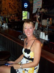 Fannie At The Bull. Key West (Roy Richard Llowarch) Tags: k florida keywest floridakeys keywestflorida duvalstreetkeywest thebullkeywest thebullwhistlebarkeywest thebullwhistlegardenofedenkeywest
