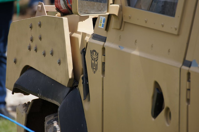 Autobot Logo on Panther (Iveco LMV)