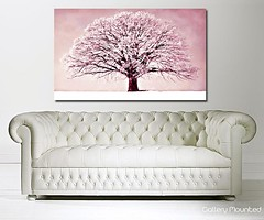 PINK WINTER TREE (Canvas Art Shop) Tags: flowers art floral wallart posters prints homedecor flowerart floralprints canvasart canvasprints flowerprints flowerwallart flowercanvasprints flowercanvasart
