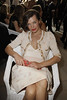 Milla Jovovich Paris Fashion Week Fall / Winter 2013- Chanel - Inside Arrivals Paris, France