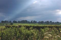 more ominous (Fiona in Eden) Tags: sky cloud rain landscape geotagged track walk hills walkway cumbria views eden footpath pennines edenvalley culgaith geo:lat=546729963691712 geo:lon=26086015344237694