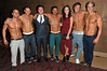 Tony Discipline, Jacqueline Jossa and the Dream Idols 'Magic Mike' European Premiere-Mayfair Hotel, London, England