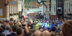 Crowds In Winchester High Street